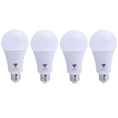 150-Watt Equivalent A21 Dimmable 2550 Lumens LED Light Bulb Daylight 5000K (4-Pack)