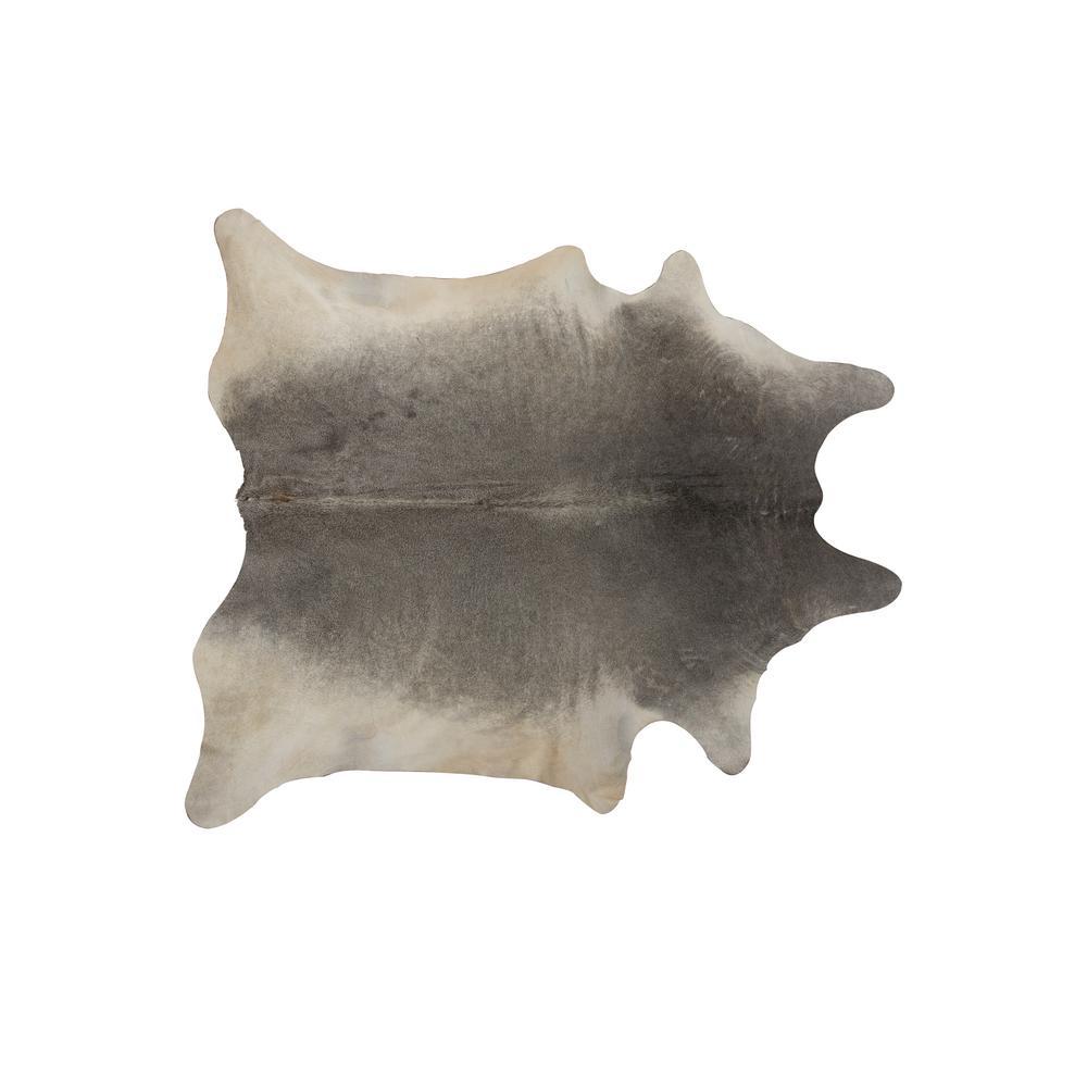 Geneva Grey 6 ft. x 7 ft. Cowhide Rug