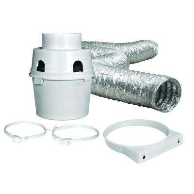 4 in. x 5 ft. Indoor Dryer Vent Kit with Flexible Duct