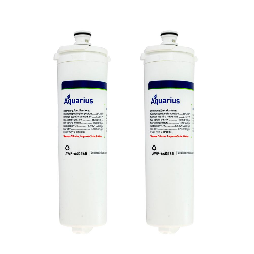 BOSCH 640565(CUNO CS-52) Replacement Refrigerator Water Filter (2-Pack)