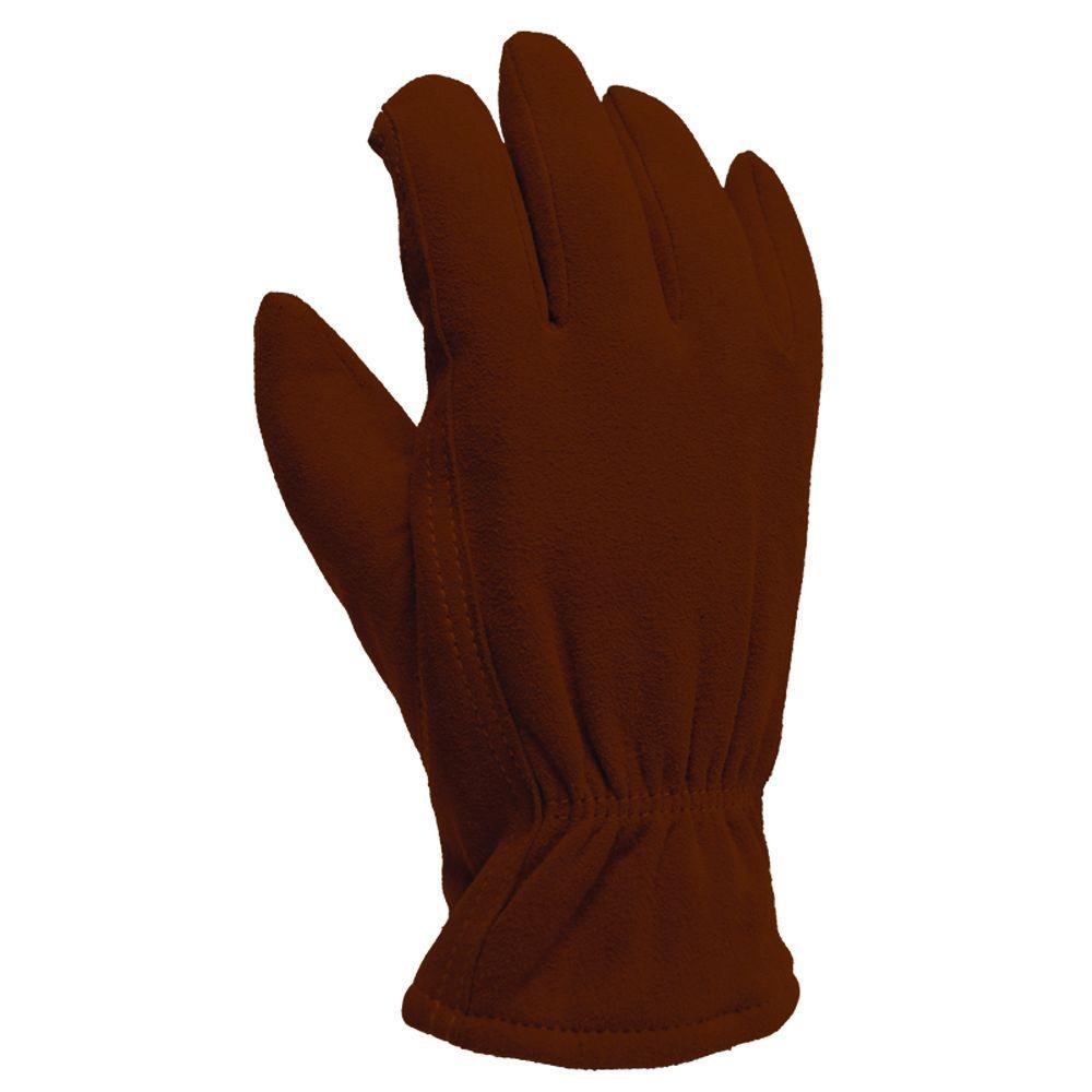 Winter Chestnut Suede Deerskin Large 40 g Thinsulate Gloves