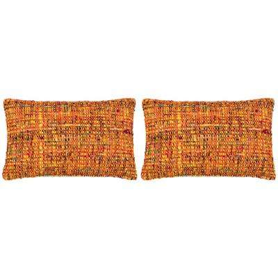 Carrie Textures & Weaves Pillow (Set of 2)