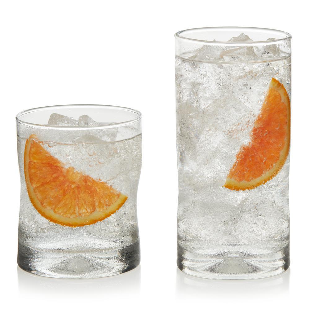 Impressions 16-piece Drinkware Glass Set