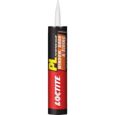 PL S40 10 fl. oz. White Polyurethane Window, Door and Siding Sealant