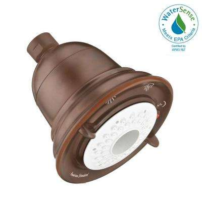 FloWise Traditional Water-Saving 3-Spray 4.5 in. Showerhead in Oil Rubbed Bronze