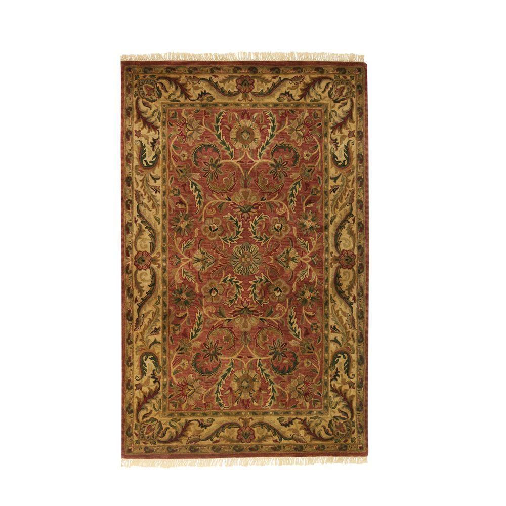 Home Decorators Collection Chantilly Brick 9 ft. 9 in. x 13 ft. 9 in. Area Rug