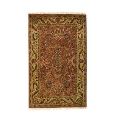 Chantilly Brick 9 ft. 9 in. x 13 ft. 9 in. Area Rug