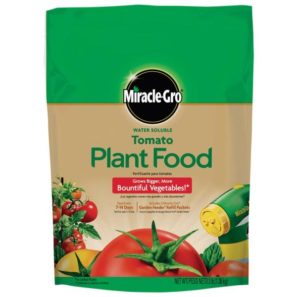 3 lbs. Water Soluble Tomato Plant Food