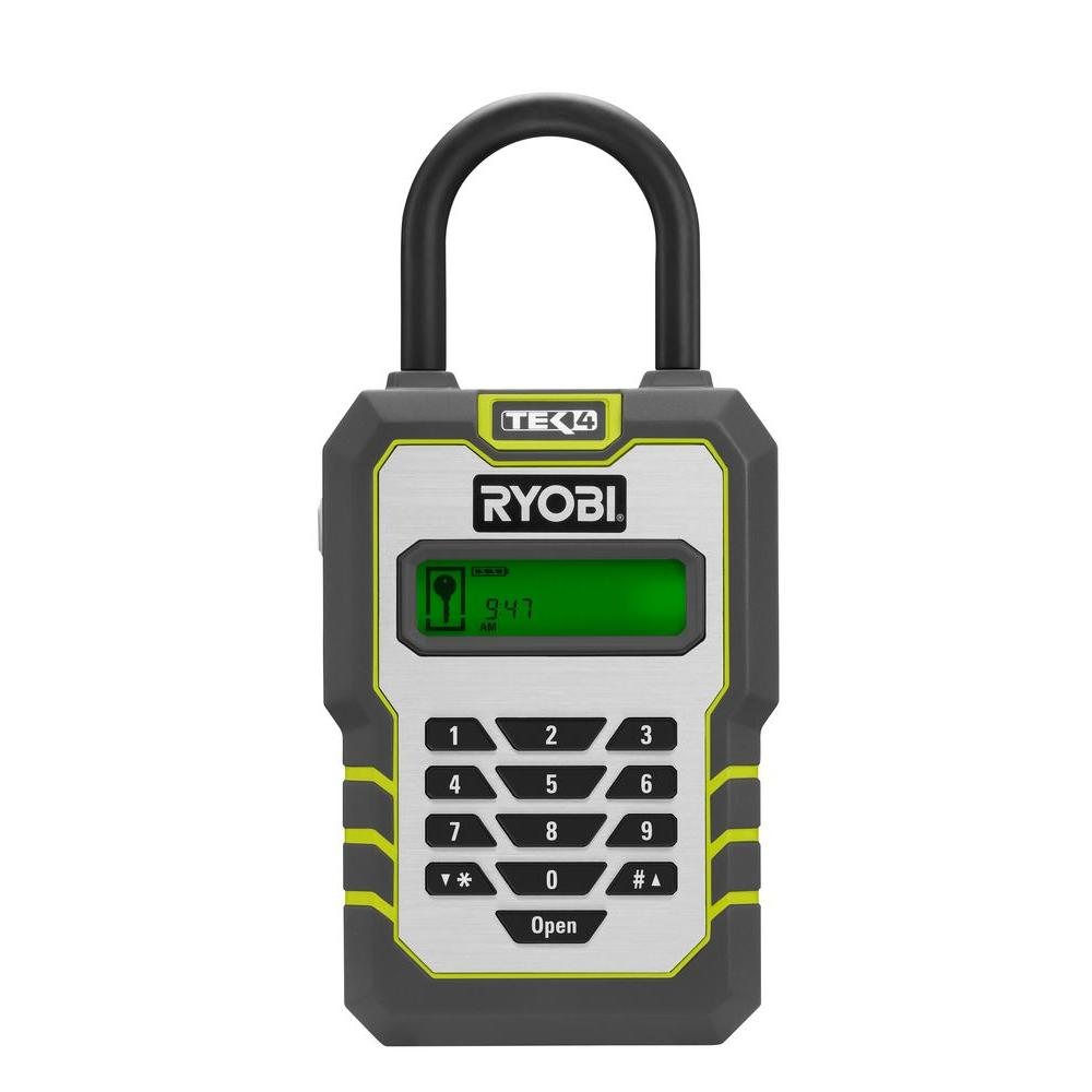 Ryobi Tek4 Digital Key Lock Box with 4-Volt Battery and Charger RP4310-DISCONTINUED