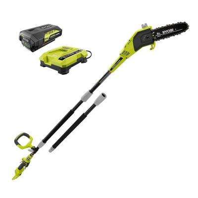 8 in. 40-Volt Lithium-Ion Cordless Pole Saw 2 Ah Battery and Charger Included