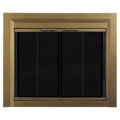 Carrington Medium Glass Fireplace Doors