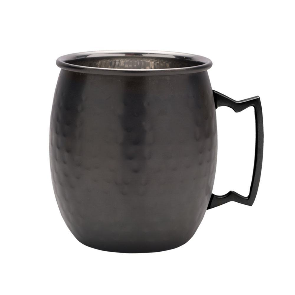 20 oz. Noir Hammered Moscow Mule Mug