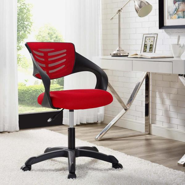 MODWAY Thrive Mesh Office Chair in Red EEI-3041-RED