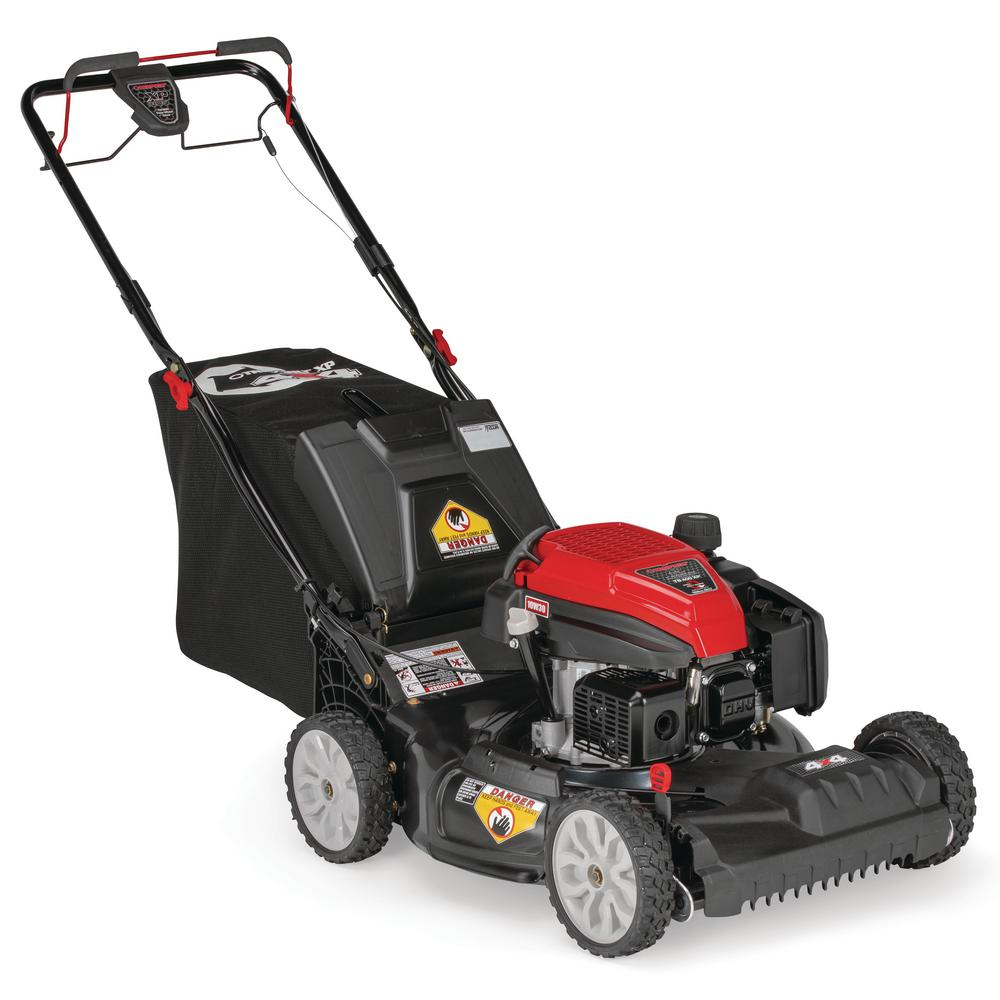 Troy-Bilt XP 21 in  159 cc Gas Walk Behind Self Propelled Lawn Mower with  Check Don't Change Oil, 3-in-1 TriAction Cutting System