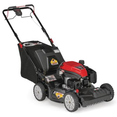 XP 21 in. 159 cc Gas Walk Behind Self Propelled Lawn Mower with Check Don't Change Oil, 3-in-1 TriAction Cutting System