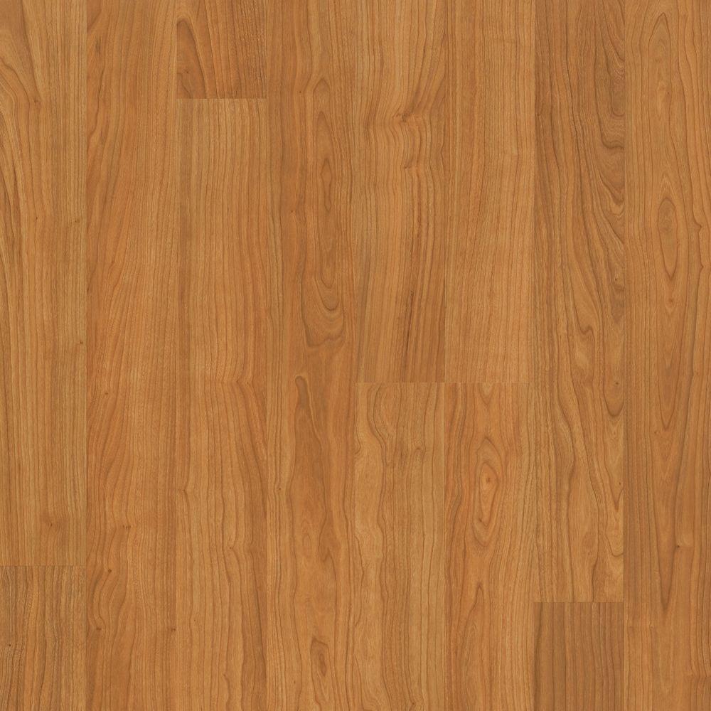 Mohawk Camellia Natural American Cherry Laminate Flooring - 5 in. x 7 in. Take Home Sample
