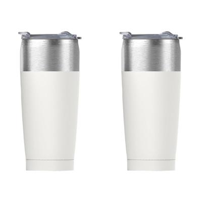 20 oz. White Tied Tumbler (2-Pack)