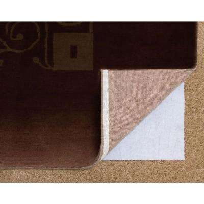 Carpet 56 in. x 86 in. Non-Slip Safety Rug to Carpet Gripper Pad