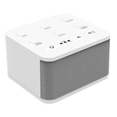 Sound Machine with 6-Sounds, White