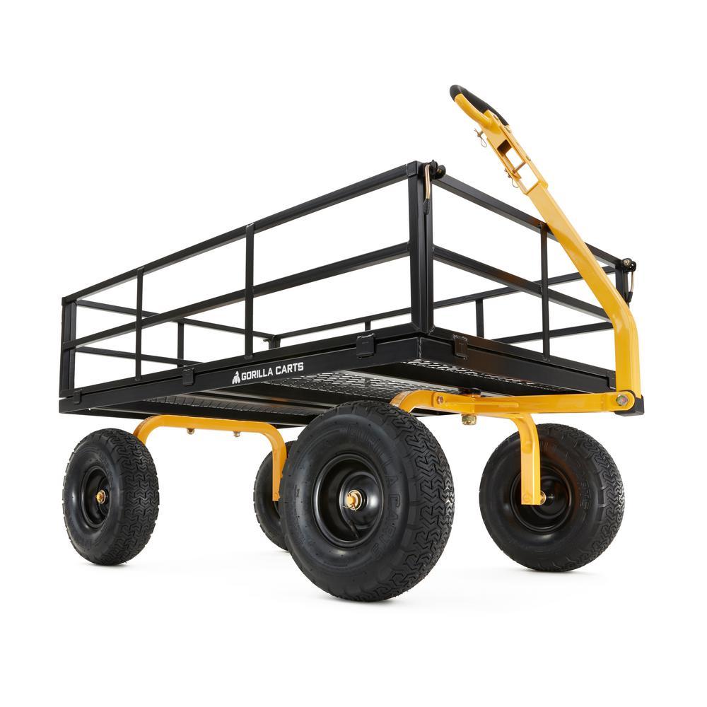 1,400 lb. Super Heavy Duty Steel Utility Cart