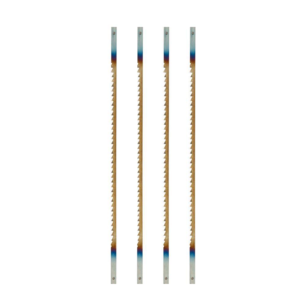 Ryobi 10 Teeth per inch Regular Tooth Scroll Saw Blades (4-Piece) by Ryobi