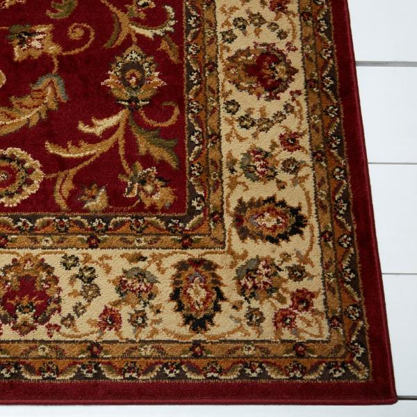 Home Dynamix Royalty Red Ivory 4 Ft X