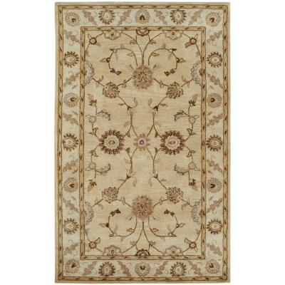 Charisma Champagne 5 ft. x 8 ft. Indoor Area Rug
