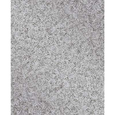 Dandi Grey Floral Wallpaper Sample