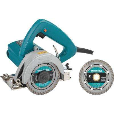 12 Amp 4-3/8 in. Masonry Saw with 4 in. Diamond Blade