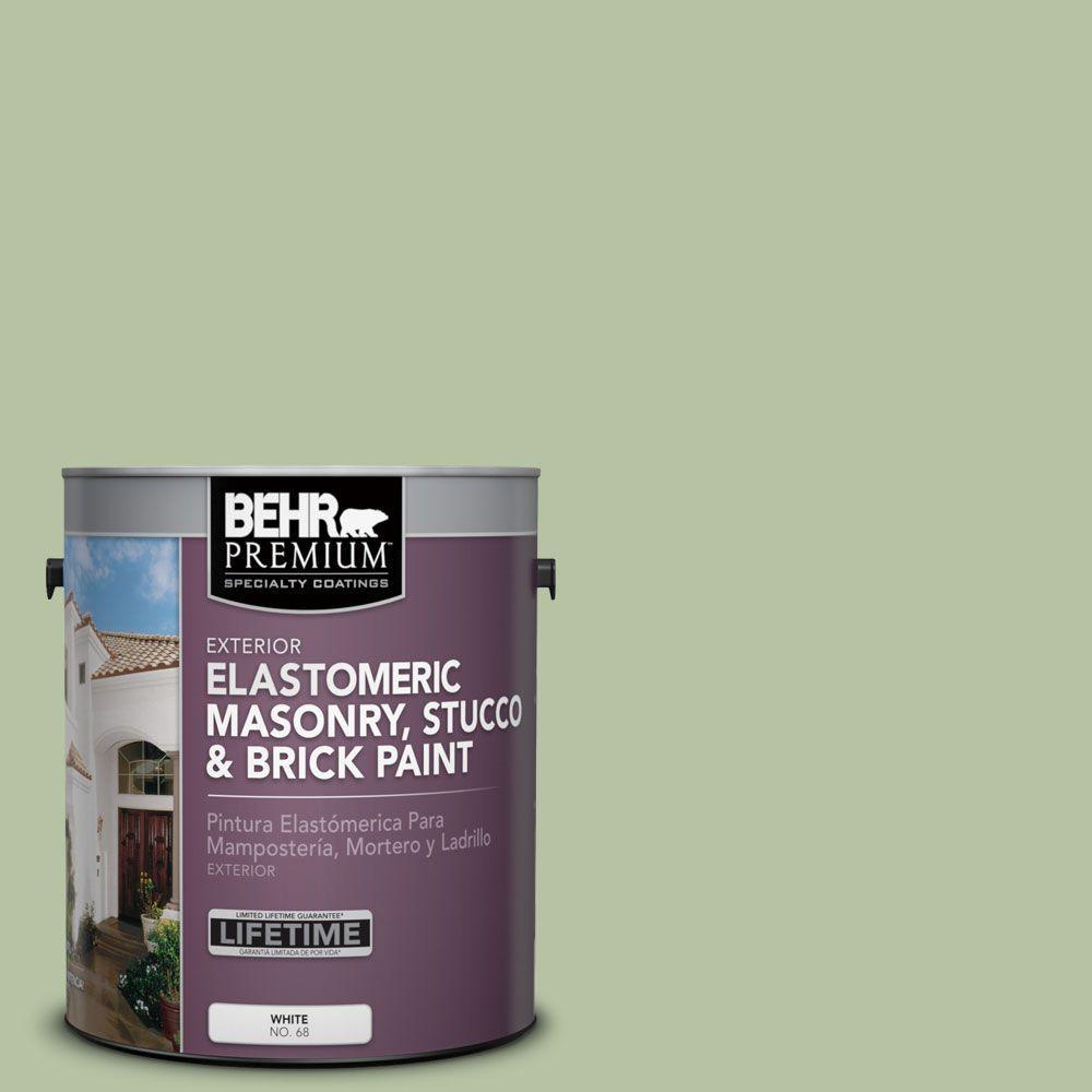 Ms 57 Soft Green Elastomeric Masonry Stucco And