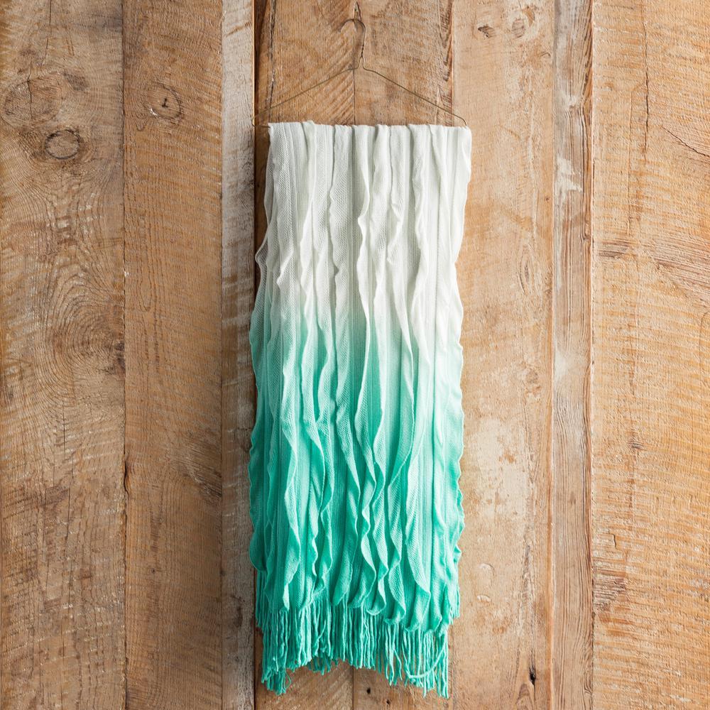 Vivica Mint Acrylic Throw