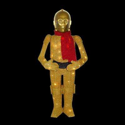 36 in. Star Wars C3PO Yard Decor