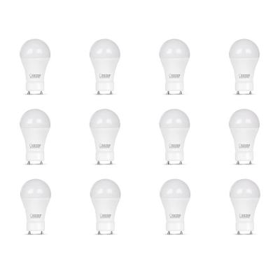 60-Watt Equivalent A19 GU24 Dimmable CEC Title 24 Compliant LED ENERGY STAR 90+ CRI Light Bulb, Bright White (12-Pack)