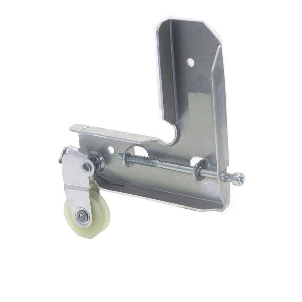 Barton Kramer 1-1/8 in. Sliding Screen Door Corner and Roller Assembly