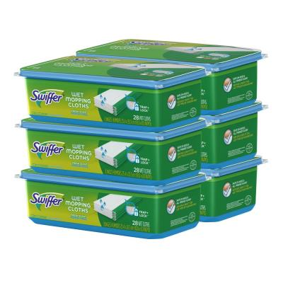 Sweeper Wet Cloth Refills with Open Window Fresh Scent (28-Pack, 6-Pack)