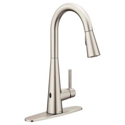 Sleek Touchless Single-Handle Pull-Down Sprayer Kitchen Faucet with MotionSense Wave in Spot Resist Stainless