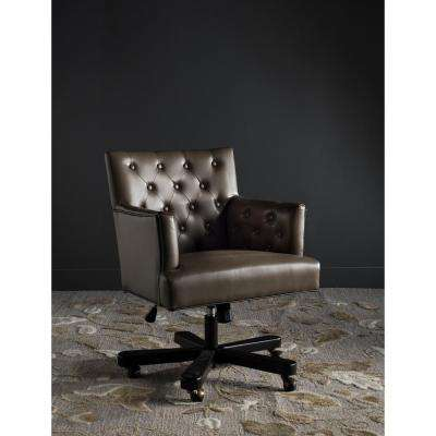 Chambers Brown Bicast Leather Office Chair