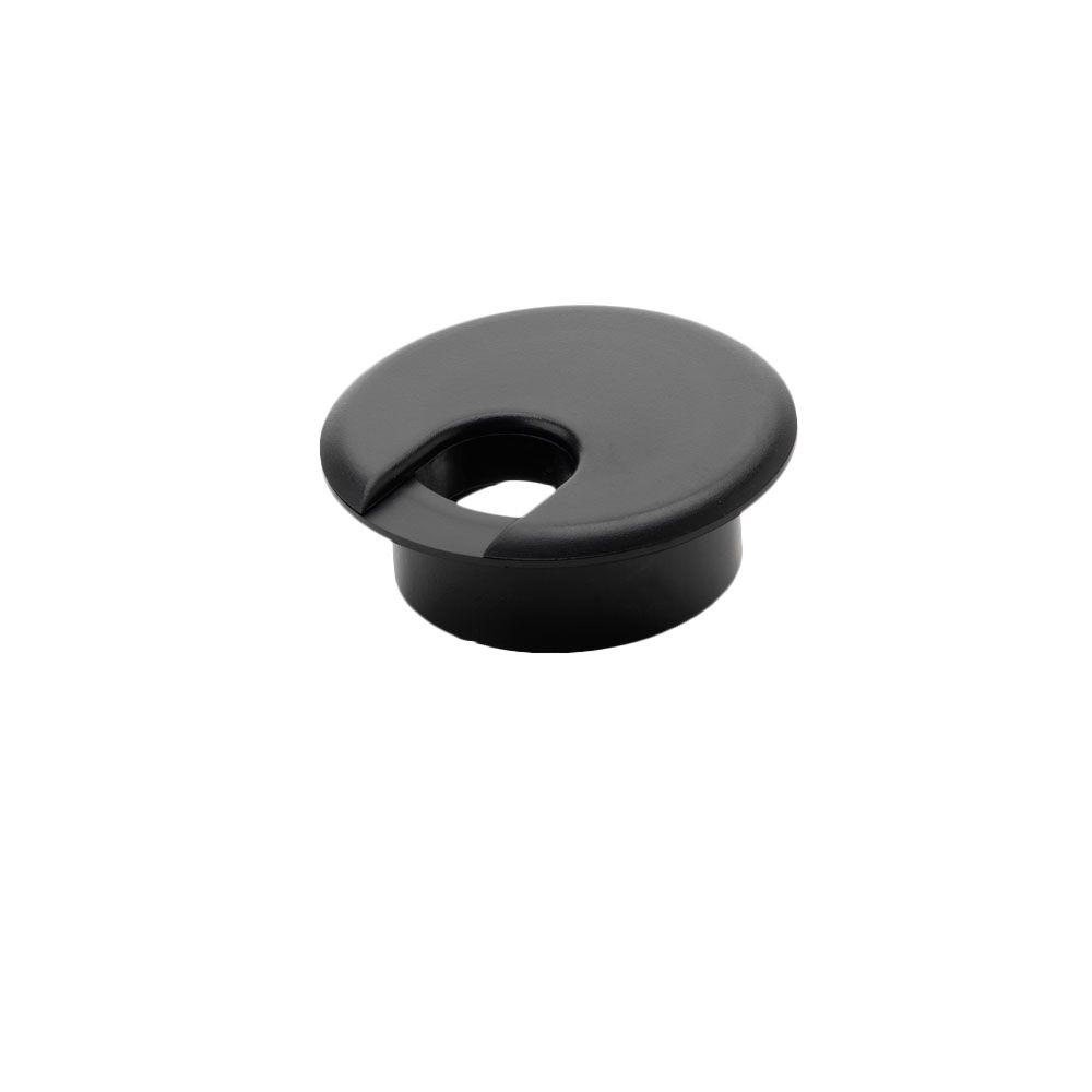 1-1/2 in. Furniture Hole Cover, Black