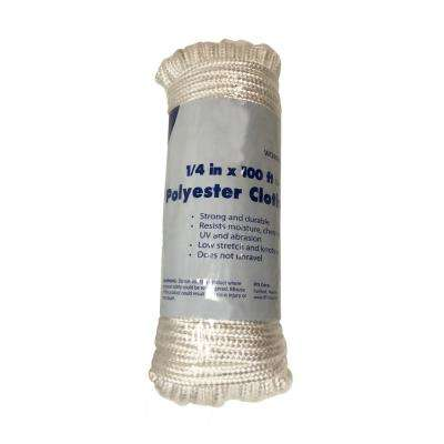 1/4 in. x 100 ft. Polyester Clothesline (2-Pack)