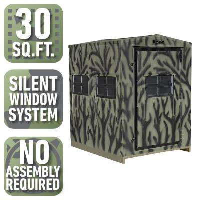 5 ft. x 6 ft. Insulated Gun and Crossbow Hunting Blind (Pre-Assembled)