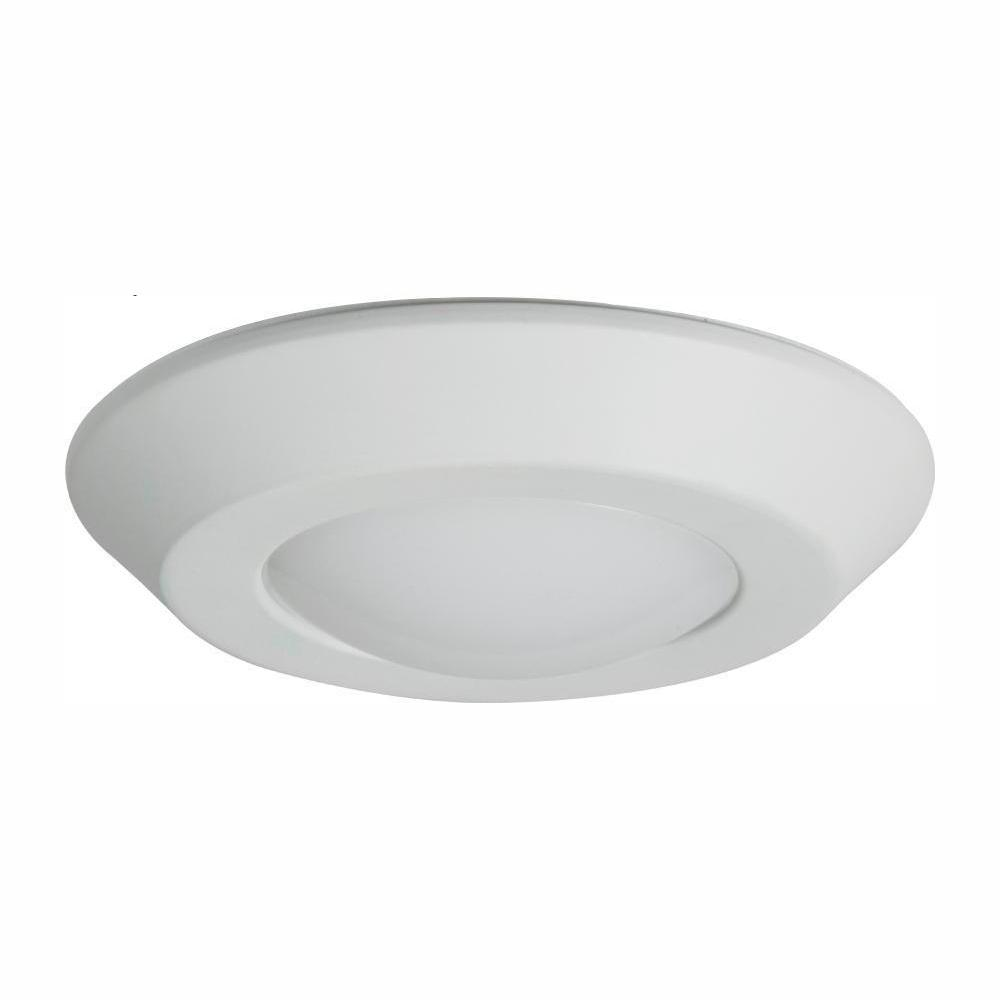 Halo Bld 4 In White Integrated Led