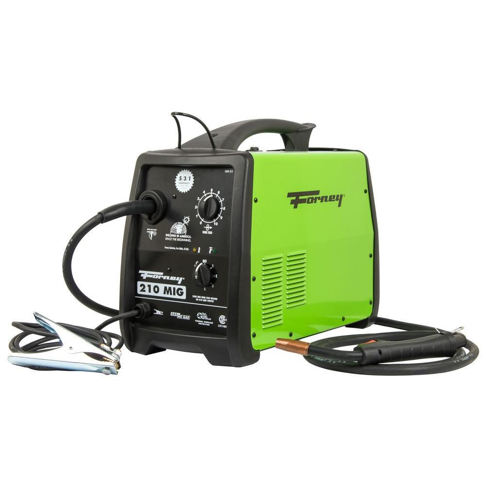 210 Amp 230-Volt MIG Welder