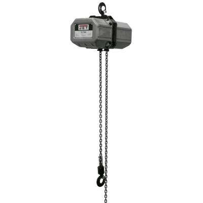 1/2-Ton Capacity 15 ft. Lift Electric Chain Hoist 1-Phase 115/230-Volt 1/2SS-1C-15