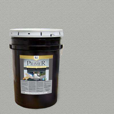 Textured 5 gal. Dolphin Gray Interior Exterior Bonding Primer Penetrating Anti-Slip
