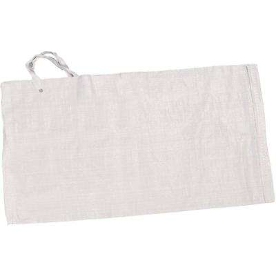 14 in. x 26 in. White Polypropylene Sandbag (100-Pack)