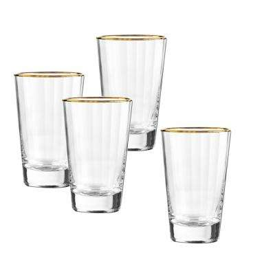 Dominion Gold 16 oz. Highball Glass (4-Piece Set)