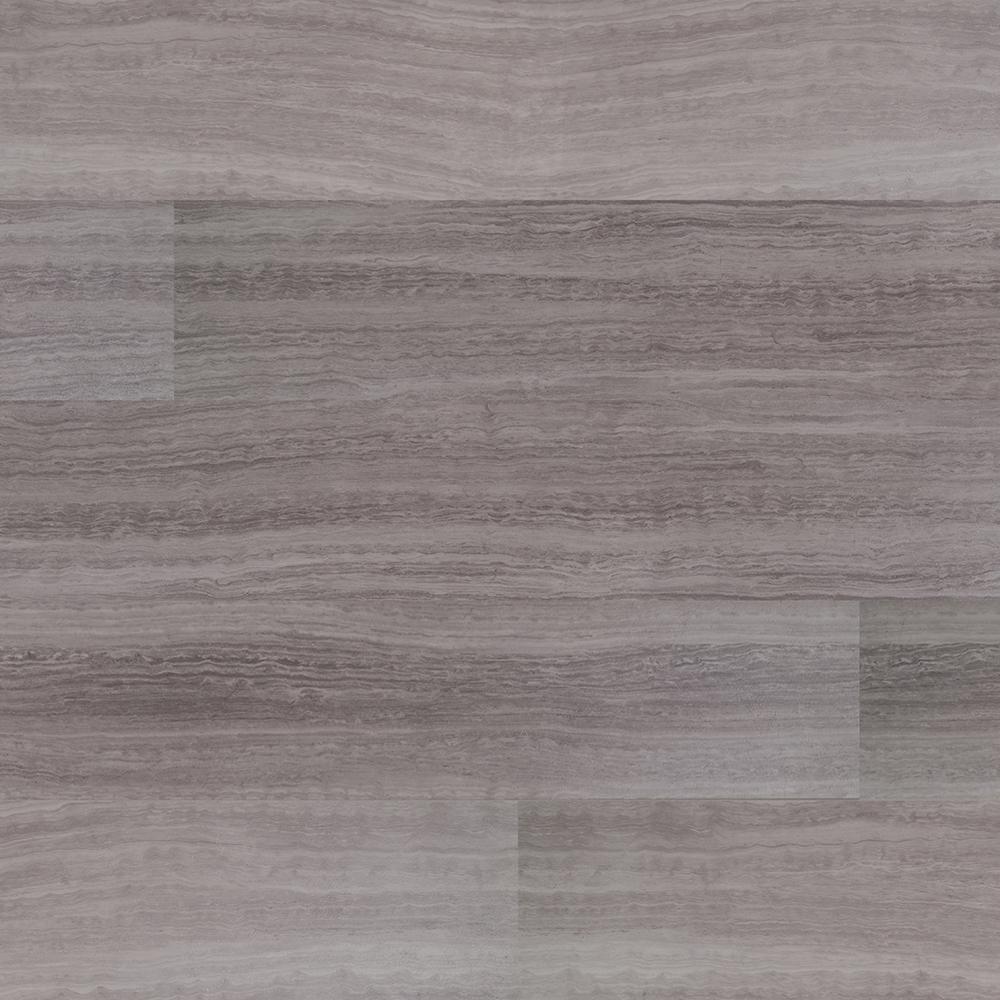 MSI Hercules Gray 7 in. x 48 in. Rigid Core Luxury Vinyl Plank Flooring (23.8 sq. ft. / case)