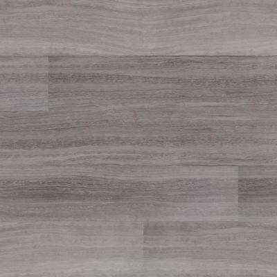 Hercules Gray 7 in. x 48 in. Rigid Core Luxury Vinyl Plank Flooring (23.8 sq. ft. / case)