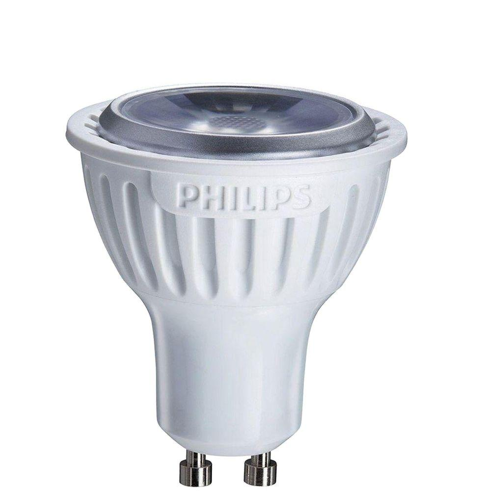 philips 35w equivalent bright white 3000k mr16 gu10 led flood light bulb 2 pack 423764 the. Black Bedroom Furniture Sets. Home Design Ideas