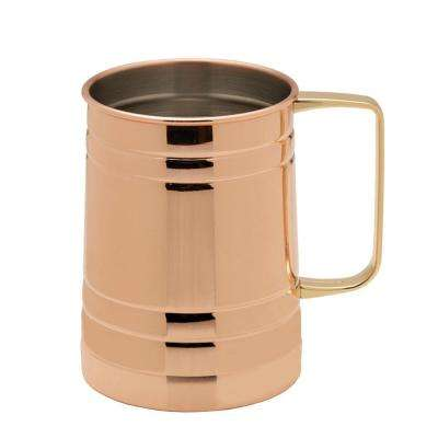 20 oz. Modernist Copper Plated Barrel Mug